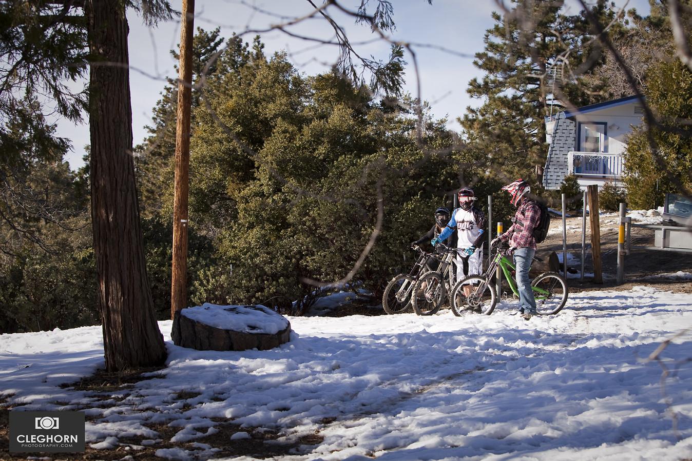 Chris Skudlarski, David Klaassen Van Oorschot and Erica Purcell - Cleghorn Photography - Mountain Biking Pictures - Vital MTB