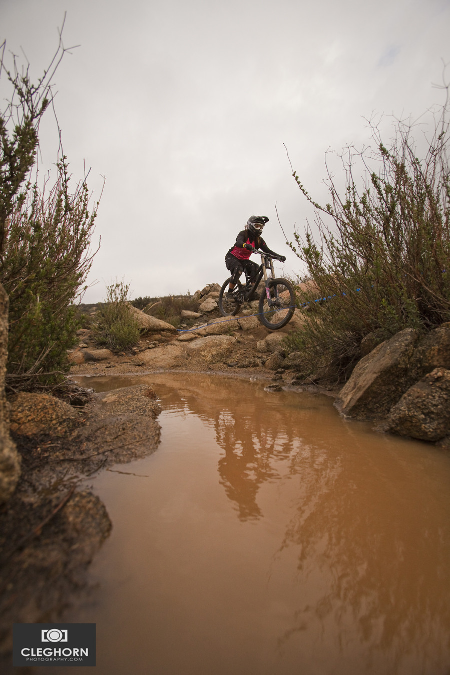 Reflecting - Cleghorn Photography - Mountain Biking Pictures - Vital MTB