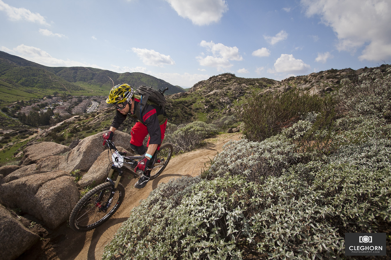 Practice runs with Eric Carter - Cleghorn Photography - Mountain Biking Pictures - Vital MTB
