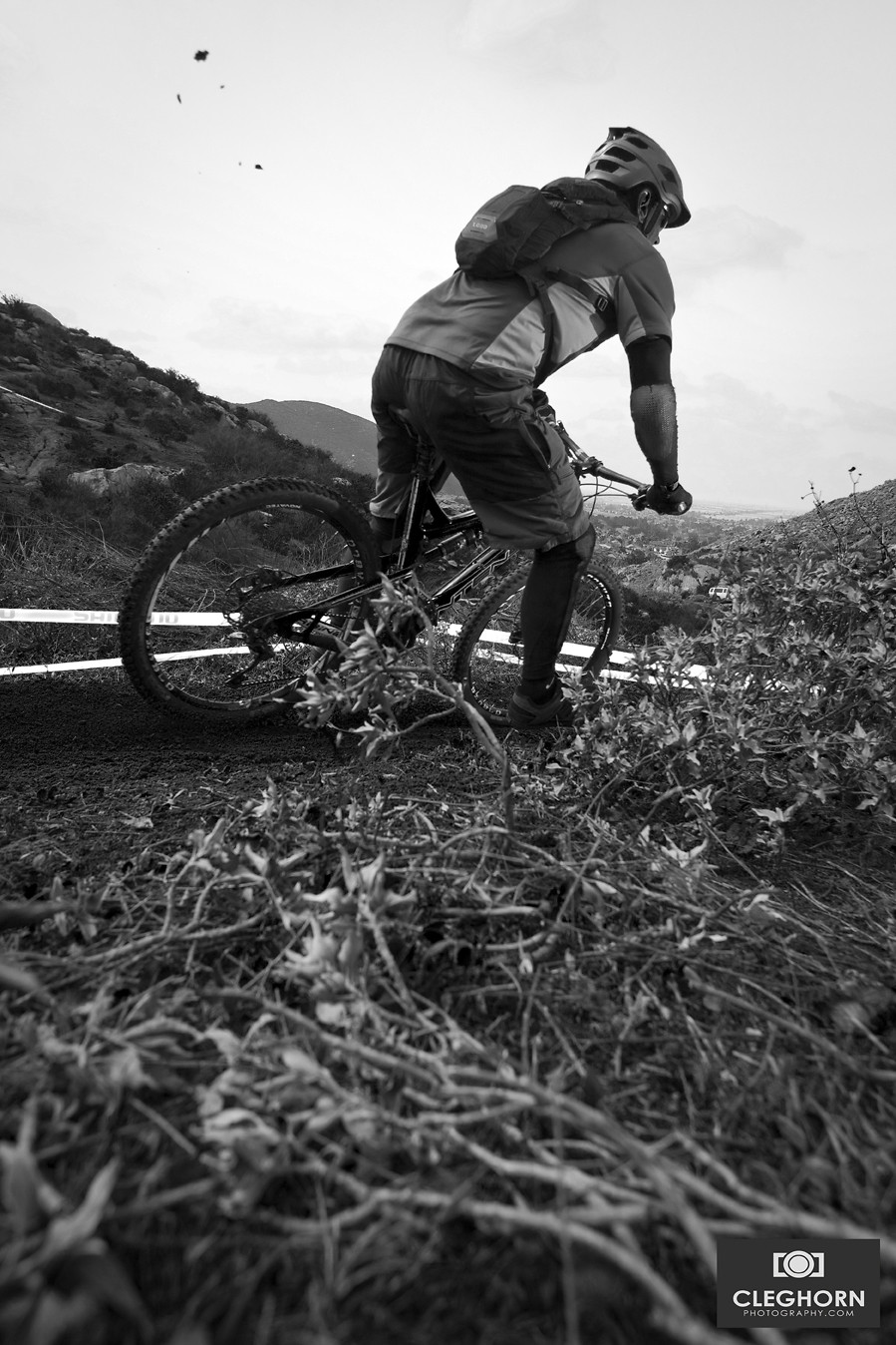 Backing it in - Cleghorn Photography - Mountain Biking Pictures - Vital MTB