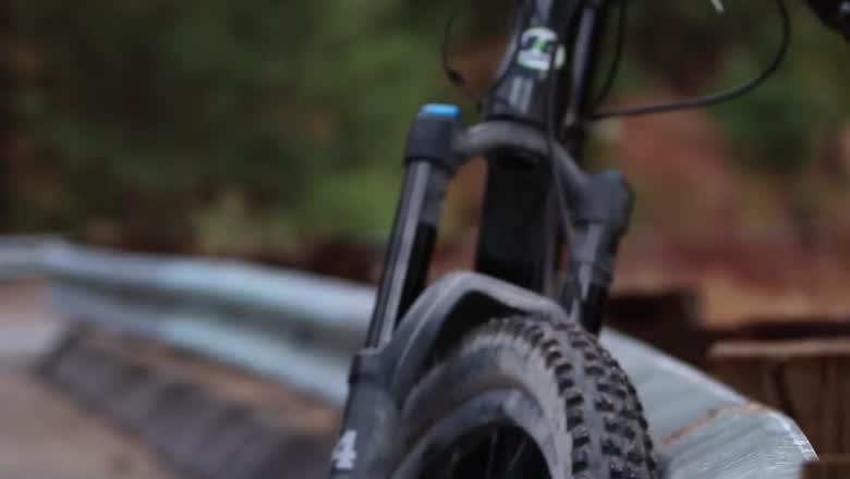 E-Bike shredding