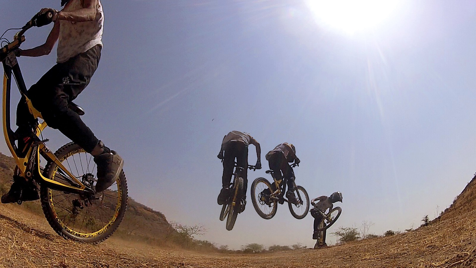 Spinning in the sun - downhillermenon - Mountain Biking Pictures - Vital MTB
