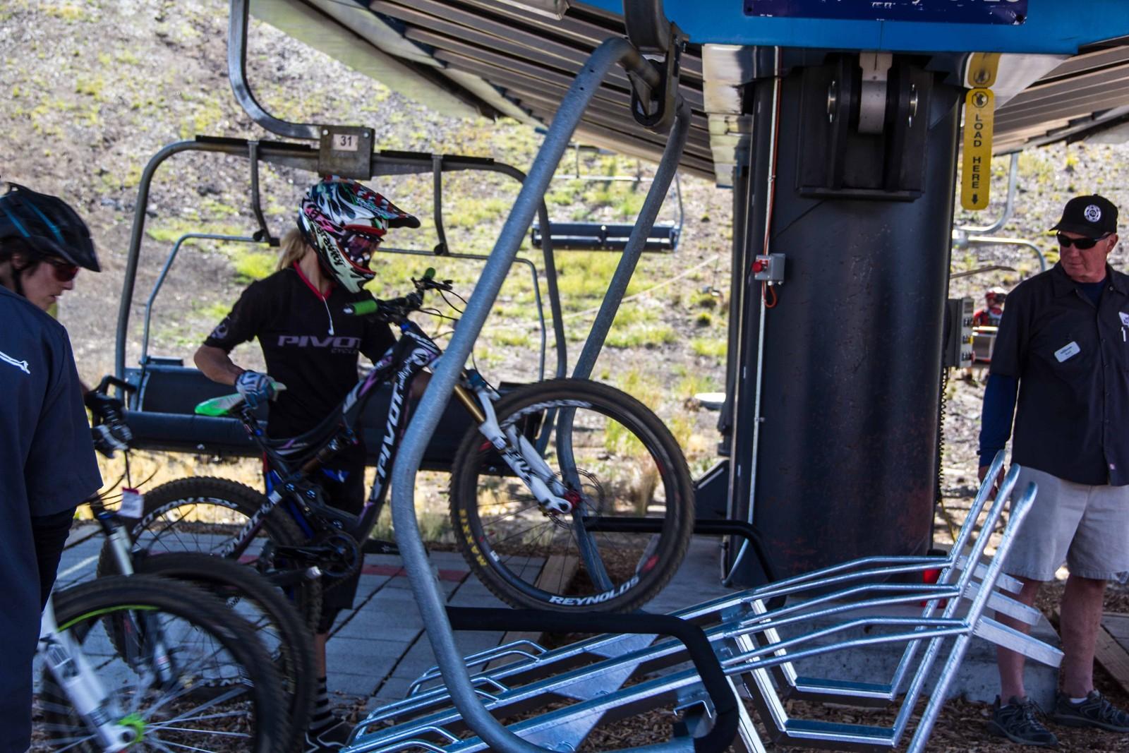 Loading up!  - Yuroshek - Mountain Biking Pictures - Vital MTB