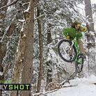 Vermont winter biking