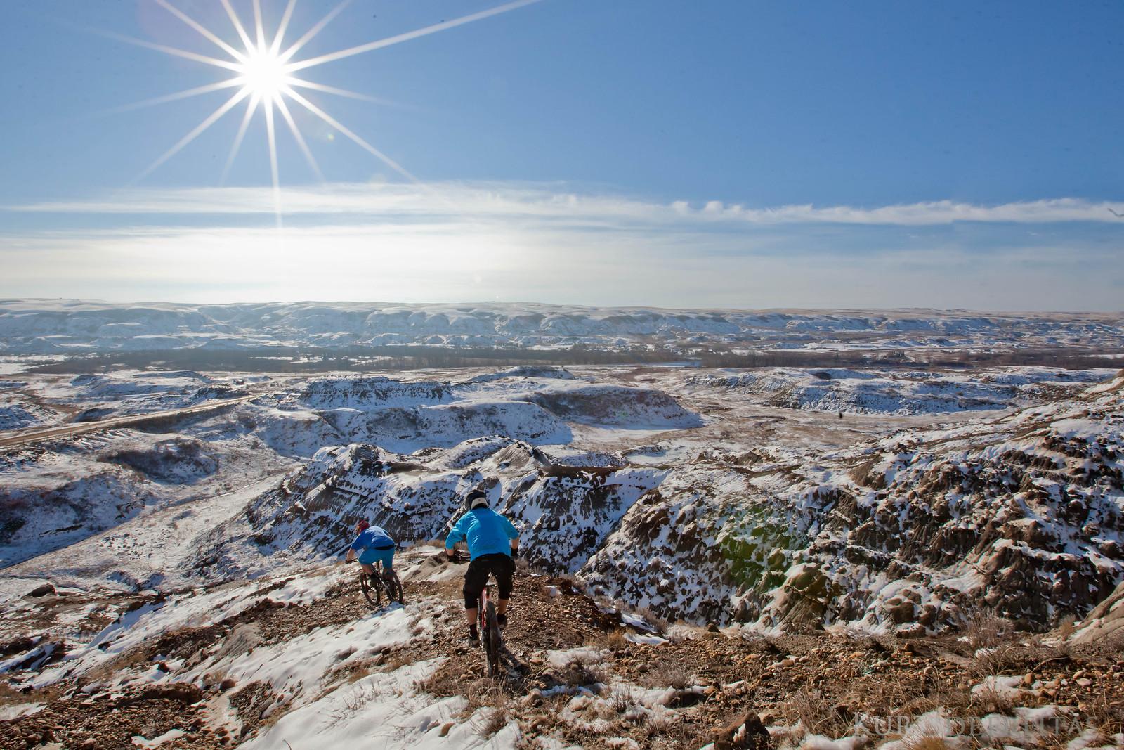 Winter flare  - Kurtdefreitas - Mountain Biking Pictures - Vital MTB
