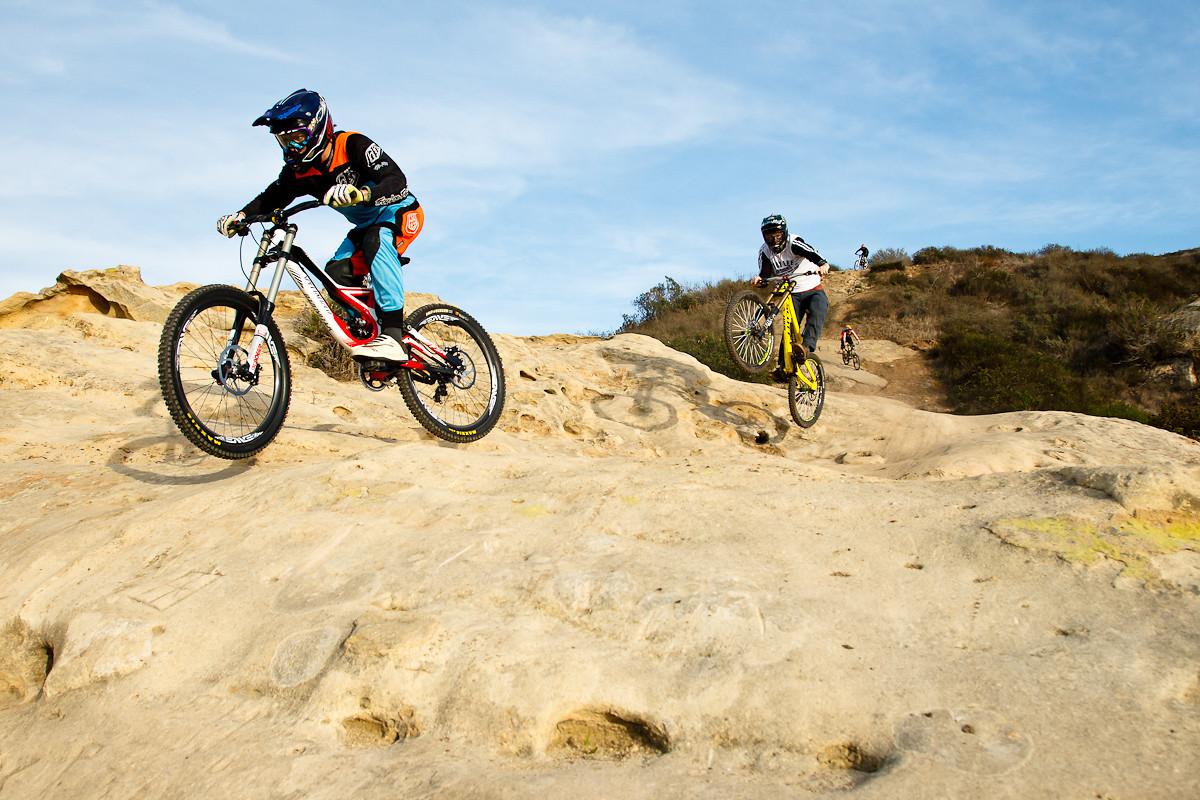 Mitch Ropelato and Brendog - Stiksandstones - Mountain Biking Pictures - Vital MTB
