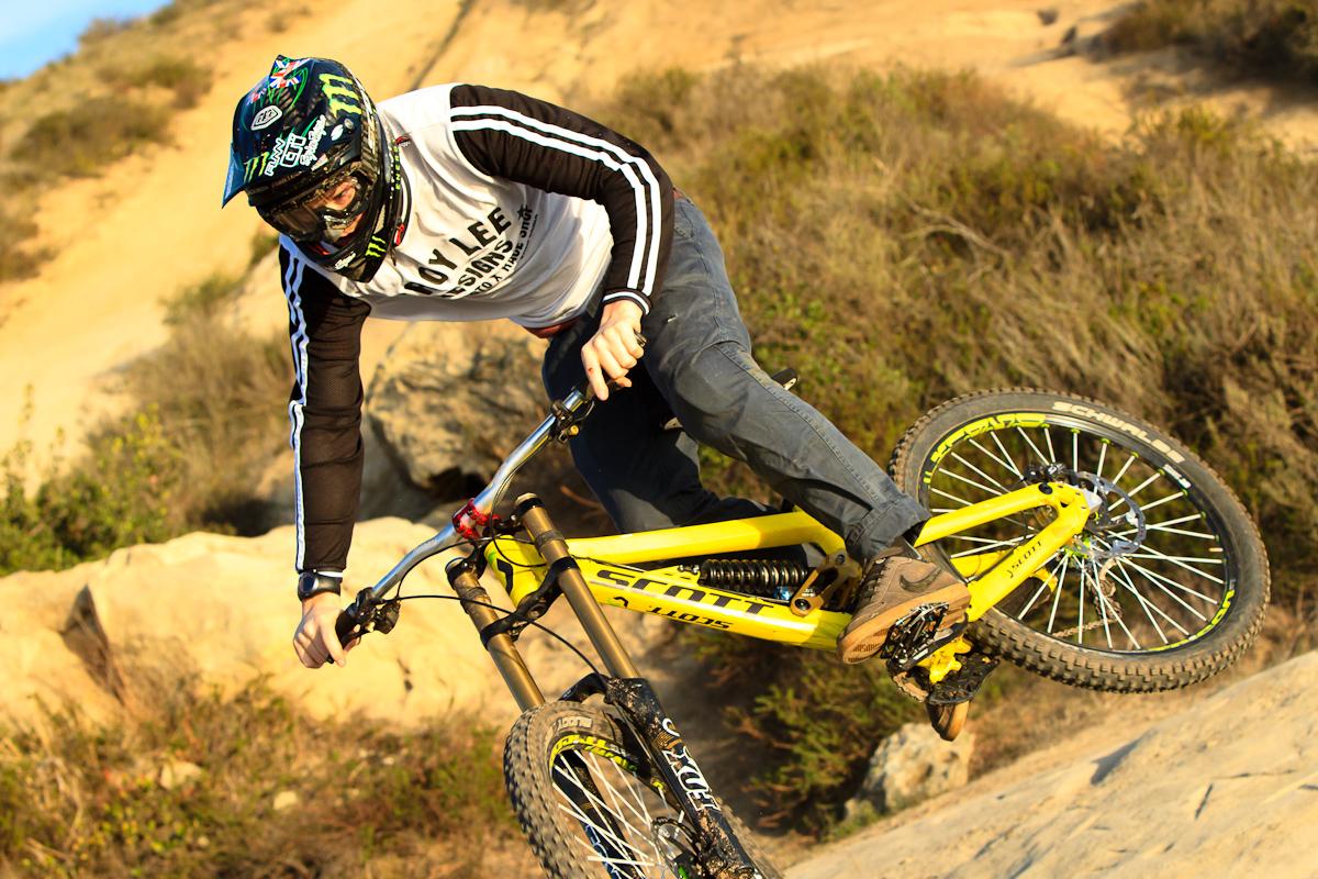 Troy Lee Designs Helmet >> Brendan Fairclough on his new Scott - Stiksandstones - Mountain Biking Pictures - Vital MTB