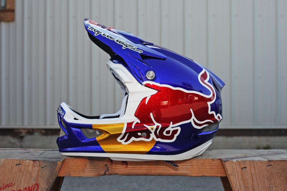Drag Racing Helmets >> Brandon Semenuk's 2012 Rampage Troy Lee Designs D3 Helmet - Stiksandstones - Mountain Biking ...