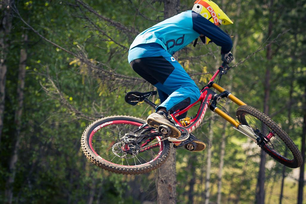 Robin Wallner Riding a Prototype Ohlins Fork - Nwallner - Mountain Biking Pictures - Vital MTB