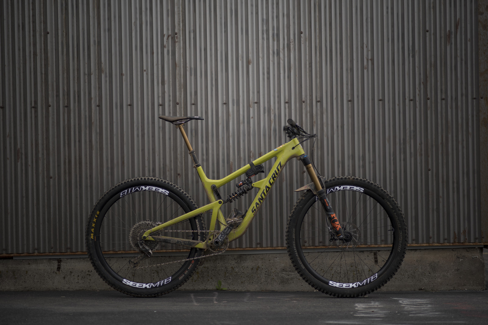 2018 Hightower LT X01, Fox Factory, and Seek Transcend 29i wheelset.