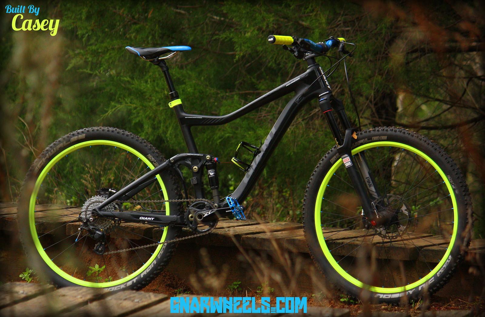 Neon 2014 Giant Trance X Advance 27.5