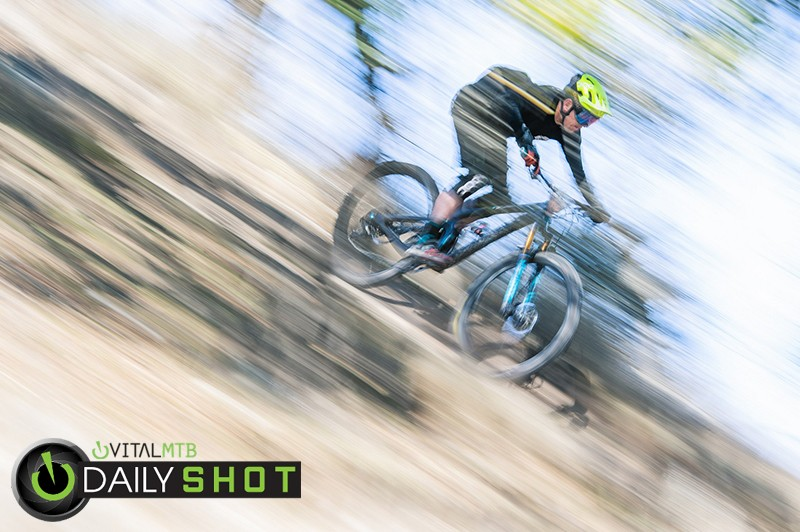 Full tilt into final stage. - carbonmsc - Mountain Biking Pictures - Vital MTB