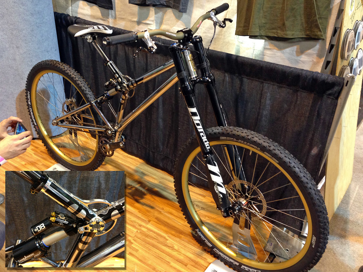 North American Handmade Bike Show 2013, Valkyrie DH Bike - NoahColorado - Mountain Biking Pictures - Vital MTB