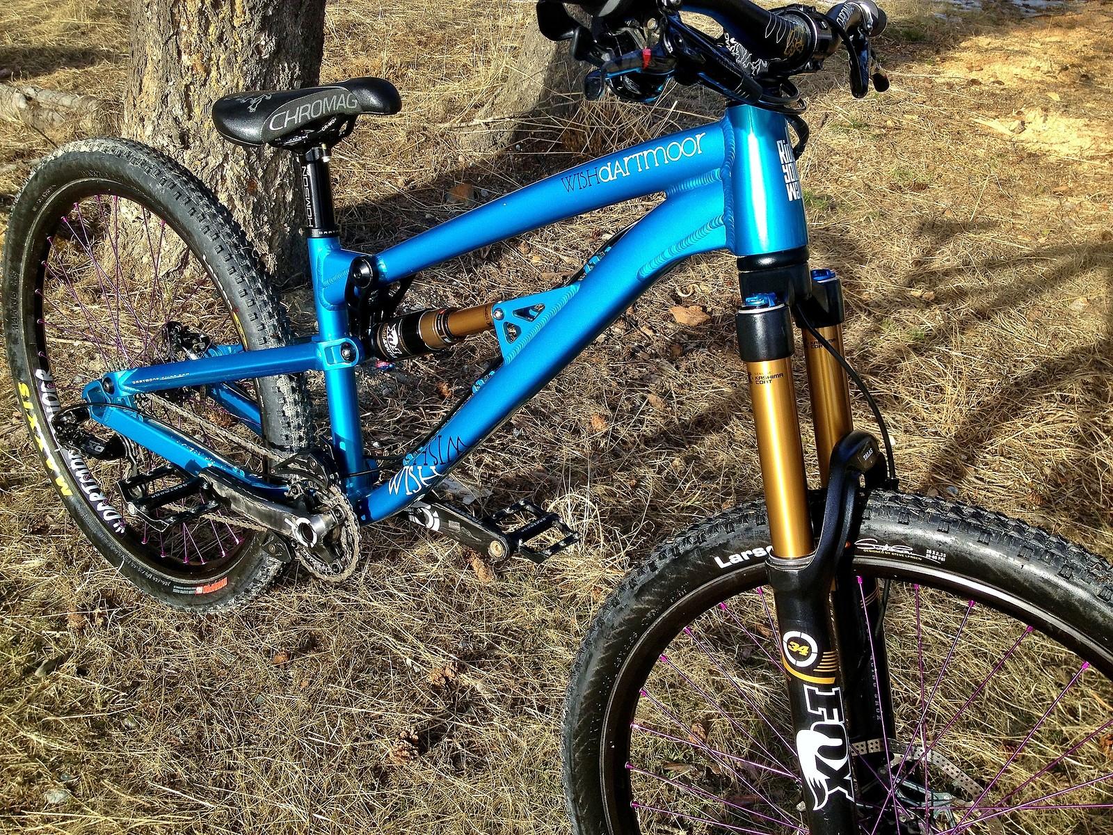 2013 Dartmoor Wish Scottalleyn S Bike Check Vital Mtb