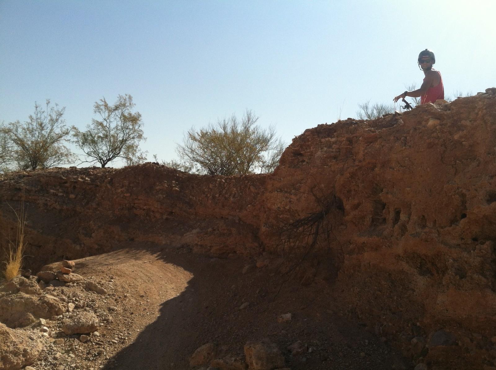 Scoping the line - JordanJoker10 - Mountain Biking Pictures - Vital MTB