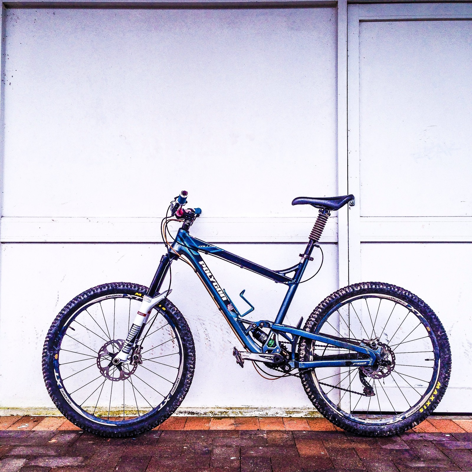 Our lead guides number 1 bike.