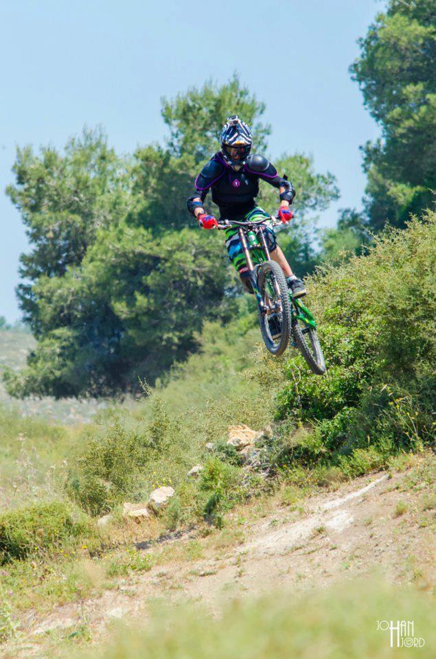 me having fun in israel :) - Perry - Mountain Biking Pictures - Vital MTB