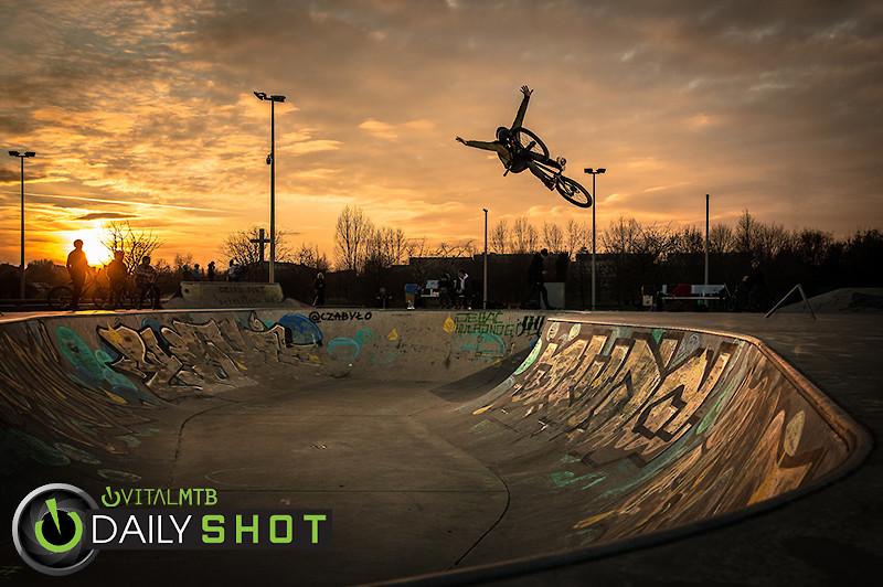Sunset at the Skatepark - Adam_GLosowic - Mountain Biking Pictures - Vital MTB