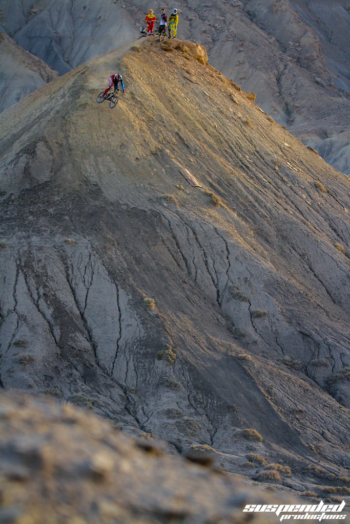 Zack testing the drop - suspended-productions - Mountain Biking Pictures - Vital MTB