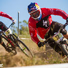 Aaron Gwin and Troy Brosnan Pinned at Sea Otter Classic