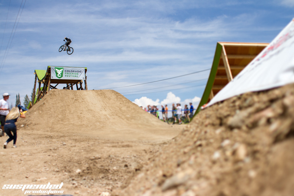Brayden Barret-Hay 360 off the Whale Tail at CFFest - suspended-productions - Mountain Biking Pictures - Vital MTB
