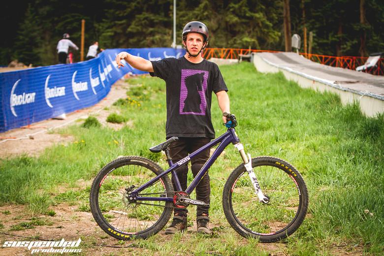 Matt Dennis at GoPro Mountain Games
