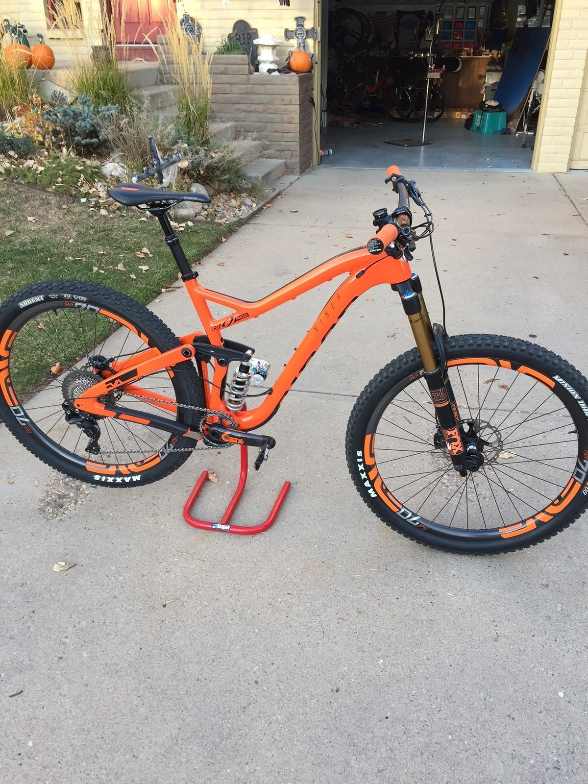 The new whip, 2017 RIP9 RDO, Pumpkin Orange!!