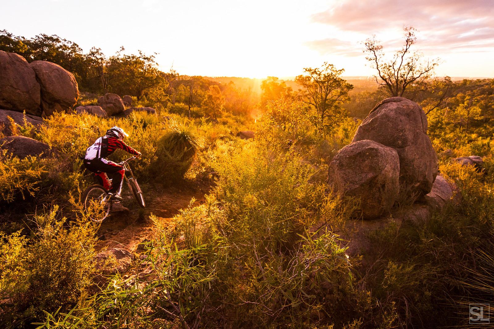 Shredding into the sunset - Chamakazi - Mountain Biking Pictures - Vital MTB