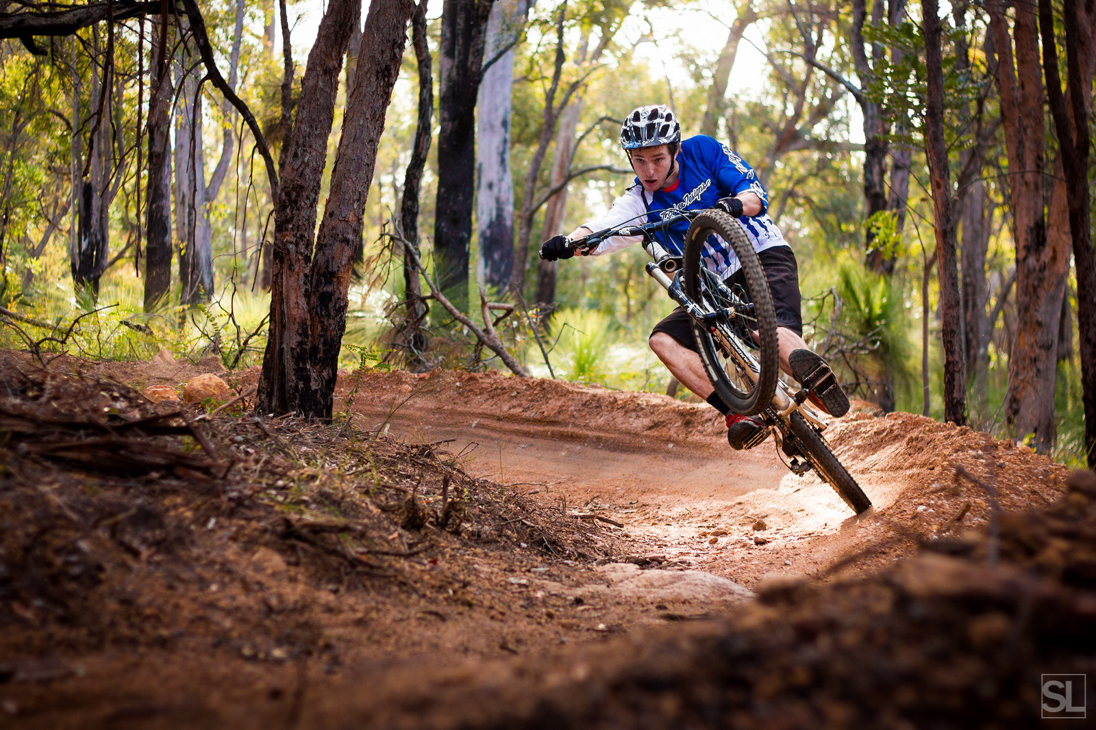 playing on the new trail - Chamakazi - Mountain Biking Pictures - Vital MTB