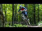 Luke Strobel Railing on His Pivot-Kenda DH Bike