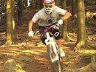 DH training on hardtail - Tomas Slavik