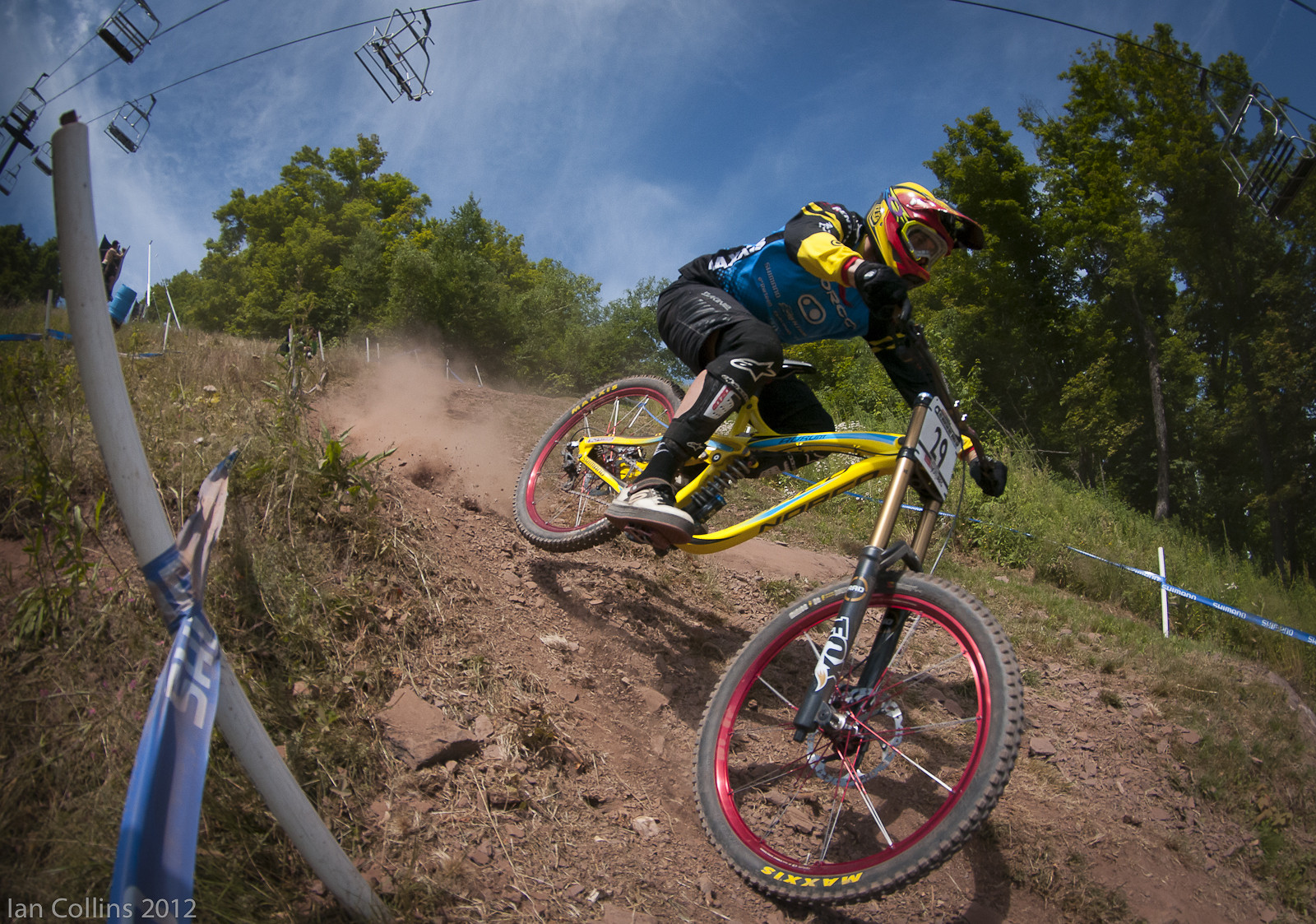 Bryn Atkinson - Ian Collins - Mountain Biking Pictures - Vital MTB