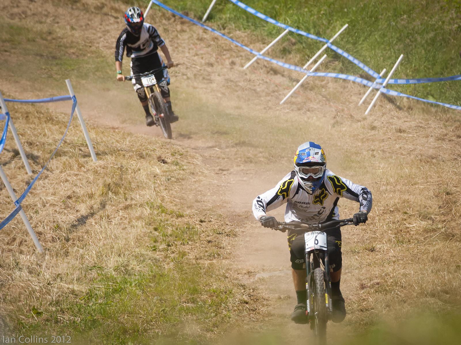 Steve Smith/Sam Blenkinsop  - Ian Collins - Mountain Biking Pictures - Vital MTB
