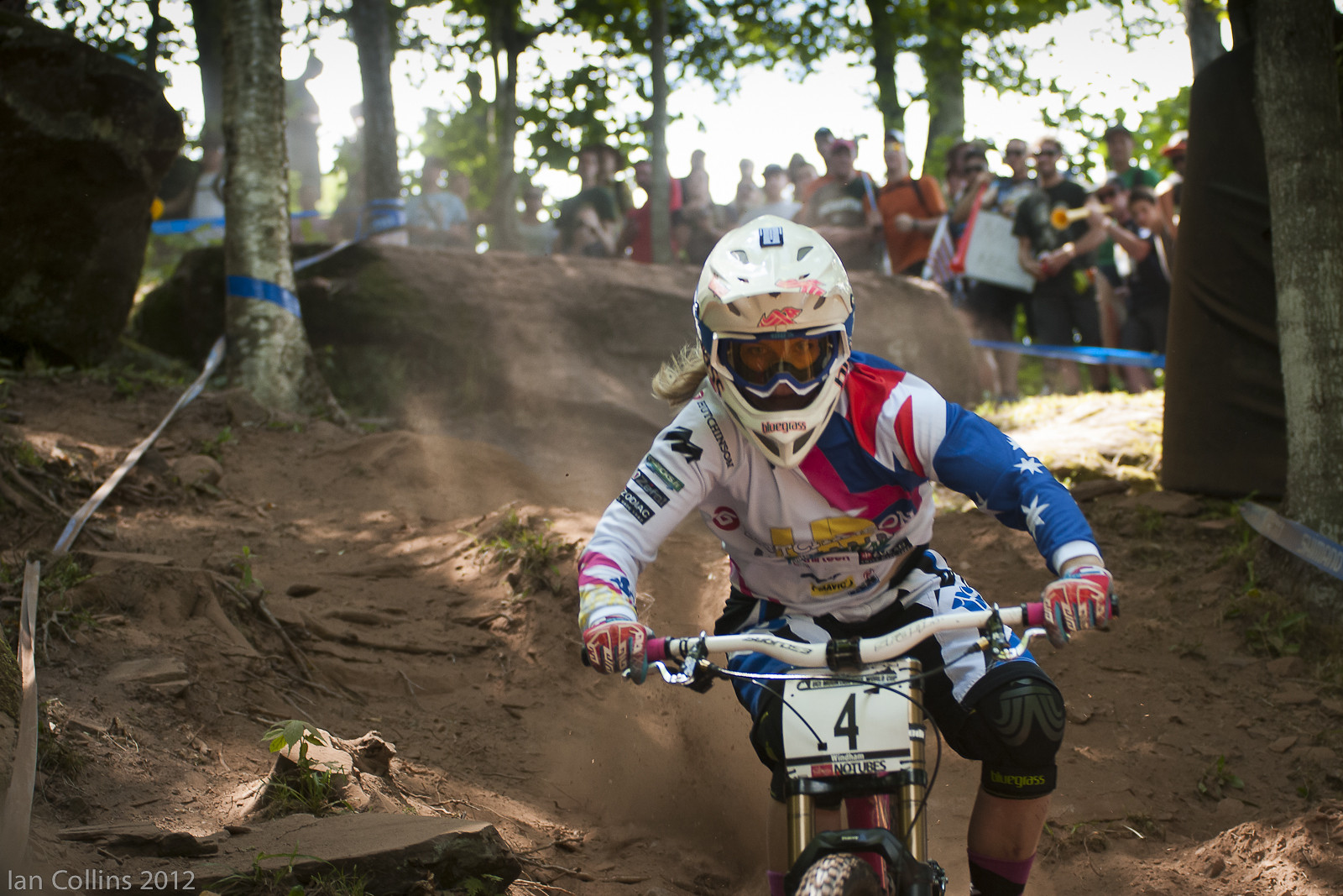 Tracey Hannah - Ian Collins - Mountain Biking Pictures - Vital MTB