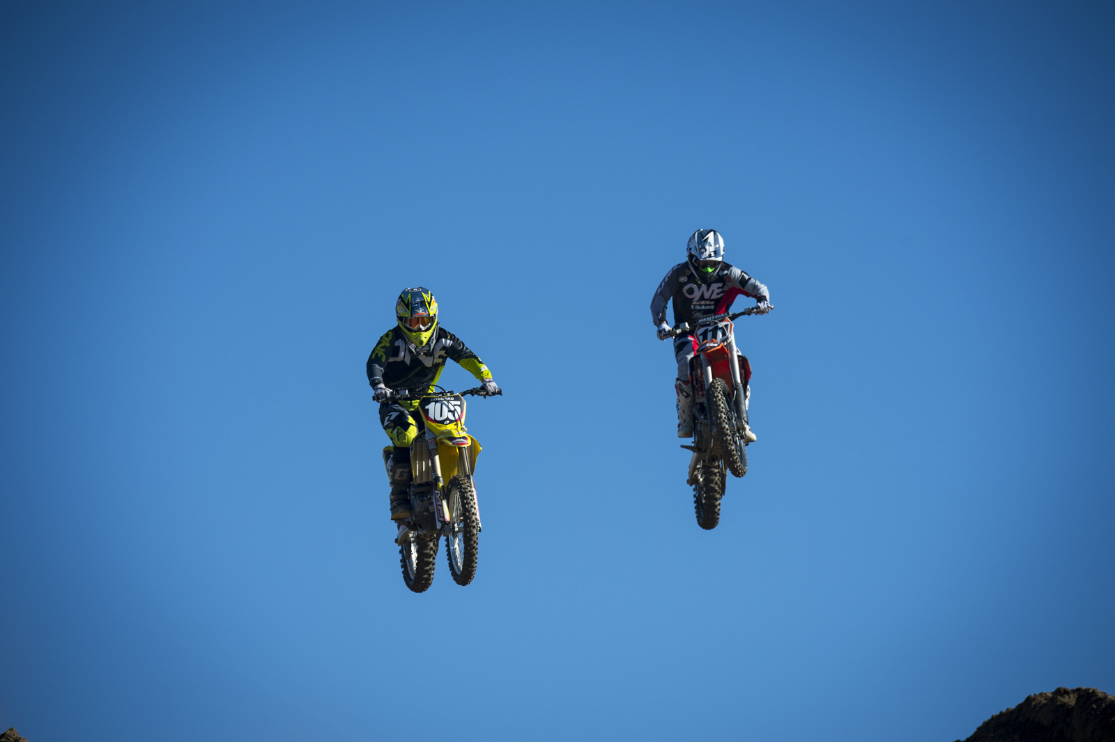Chad Hubbard and Mike Sleeter - Ian Collins - Mountain Biking Pictures - Vital MTB