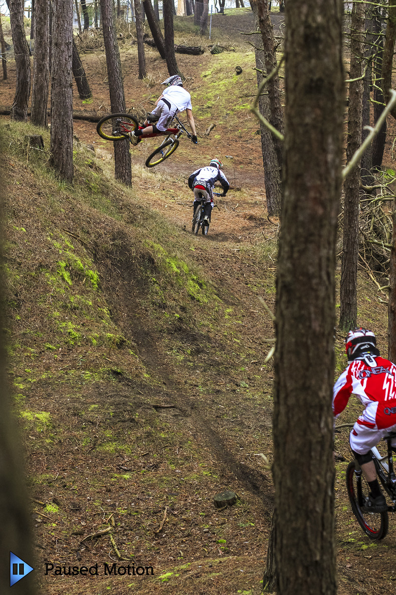Pete whipping big on the hip  - Cagphoto - Mountain Biking Pictures - Vital MTB