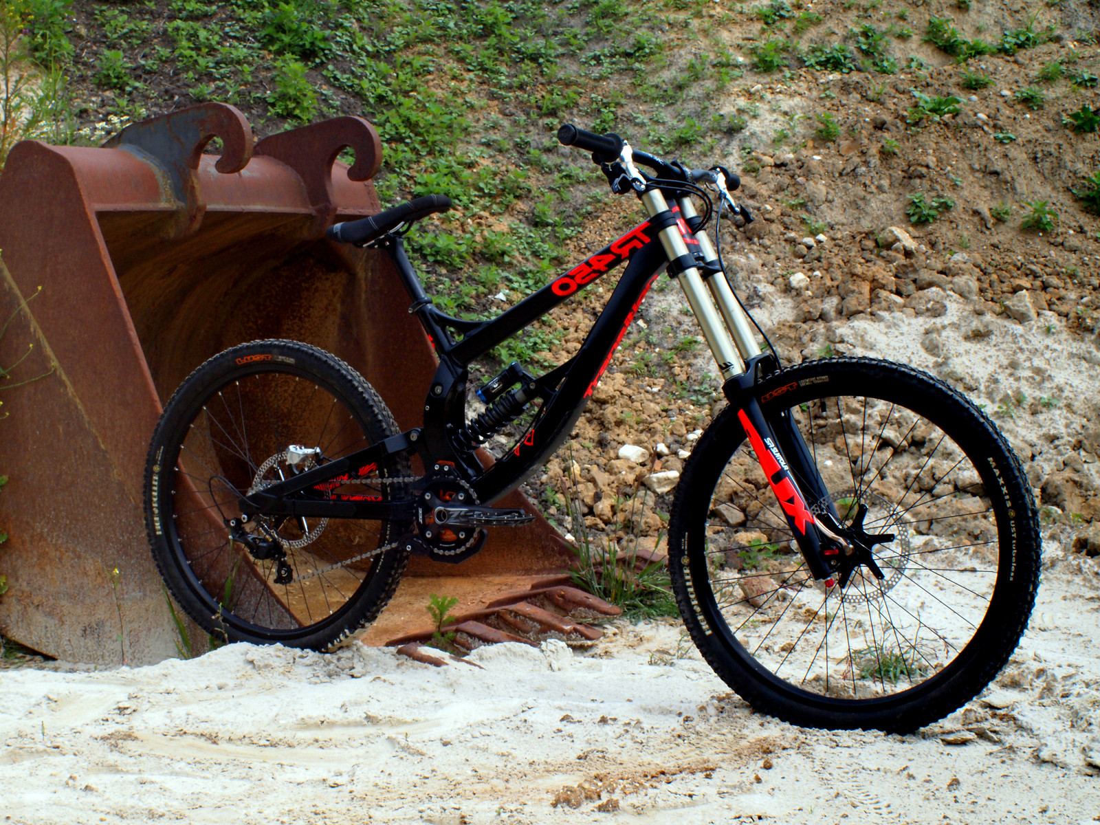 Transition TR450 - The Ax!