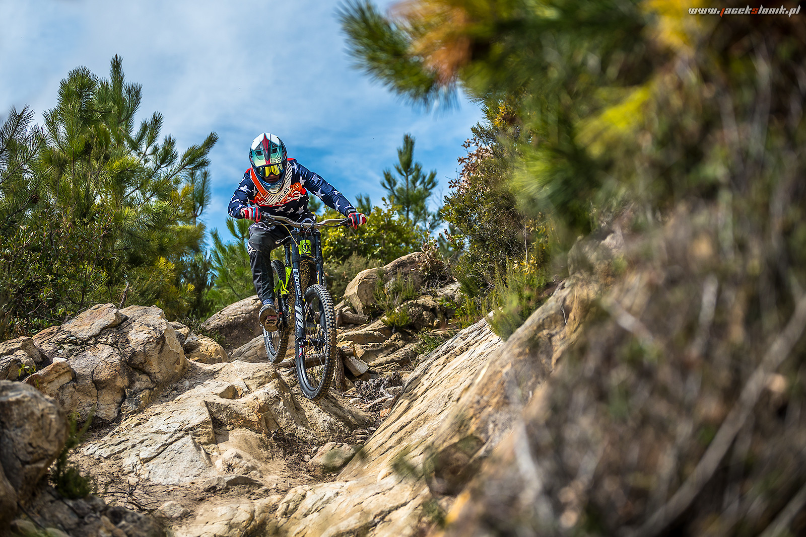 Freeride track in SanRemo - JacekSlonik - Mountain Biking Pictures - Vital MTB