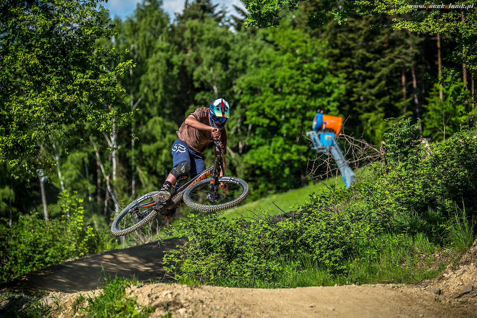 Test ride with on Commencal Supreme29 with Downhill24.bike - JacekSlonik - Mountain Biking Pictures - Vital MTB