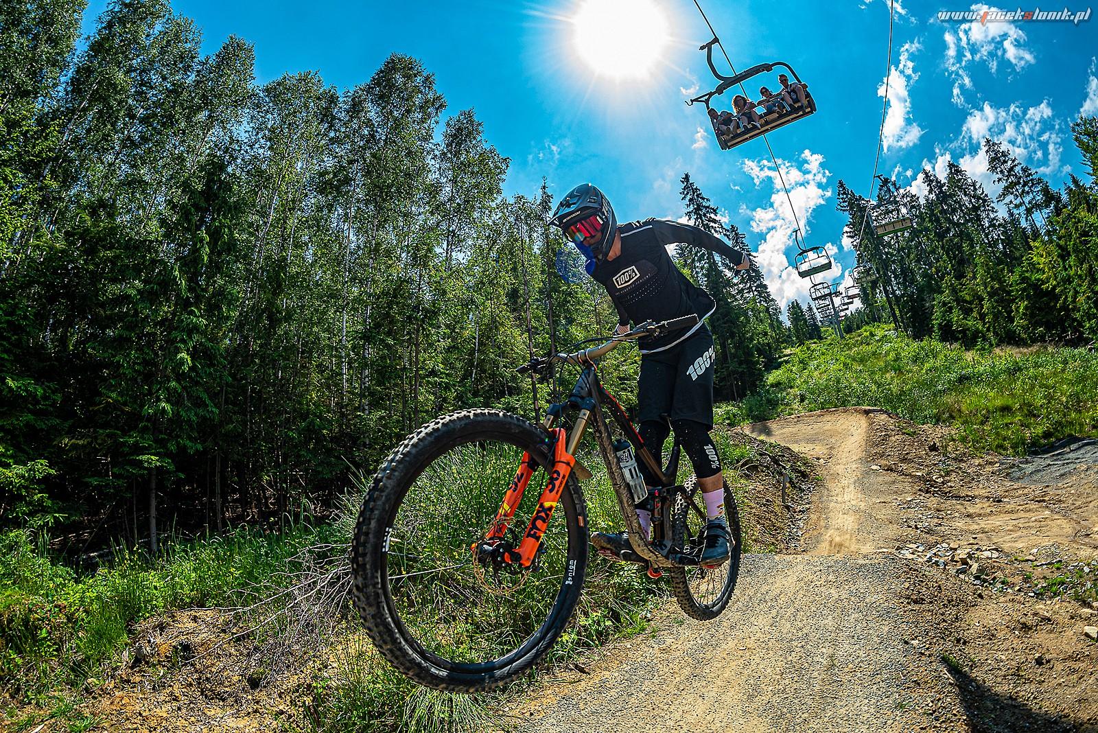 Kriss on Skolnity Gravity Park - JacekSlonik - Mountain Biking Pictures - Vital MTB