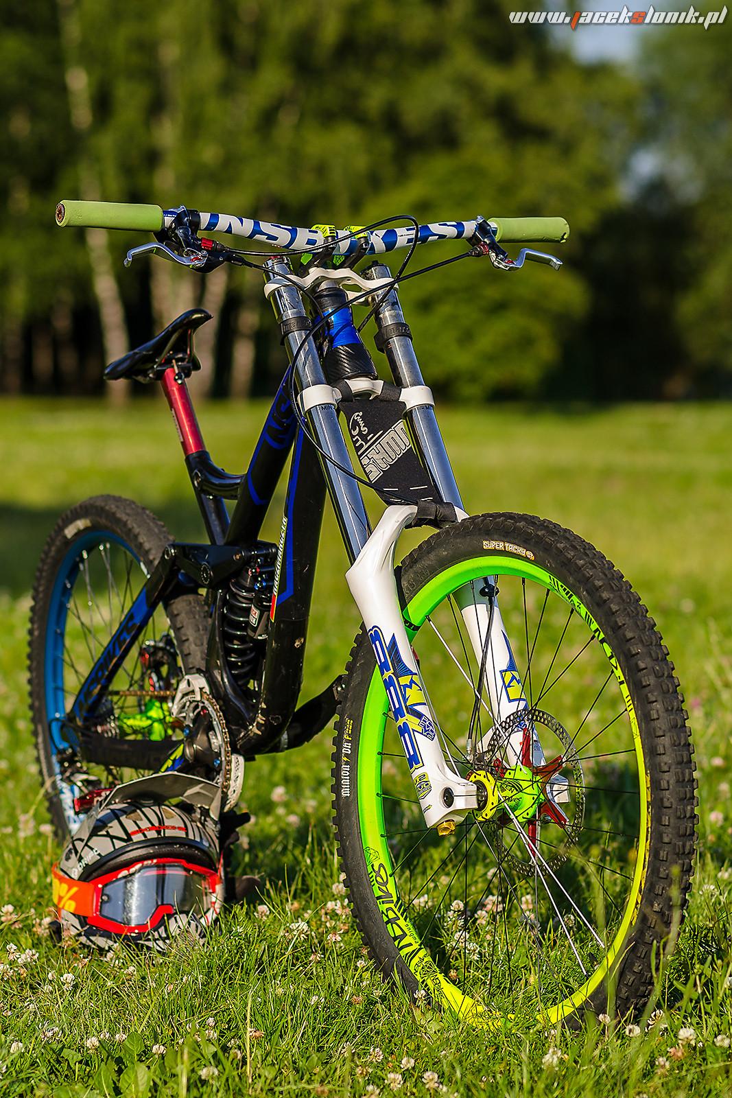 aa8f08f8356 NS Bikes Fuzz - JacekSlonik's Bike Check - Vital MTB