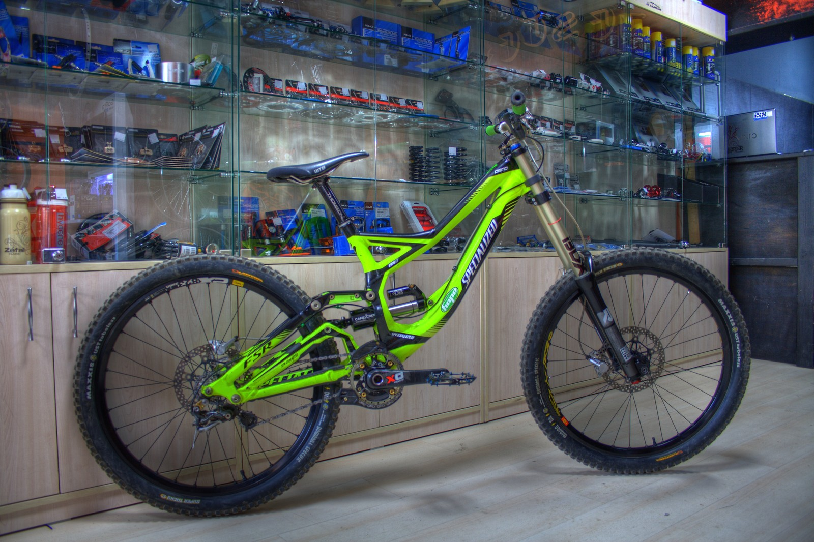 Specialized Demo 8 2011 now with a CCDB Air