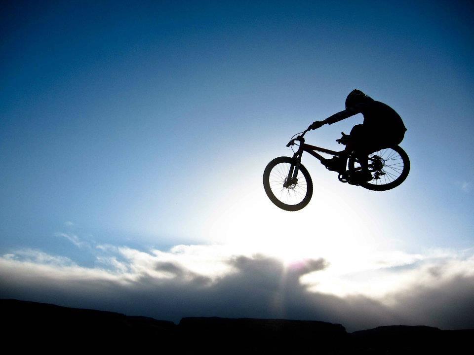 dj silhouette tnewpher mountain biking pictures vital mtb