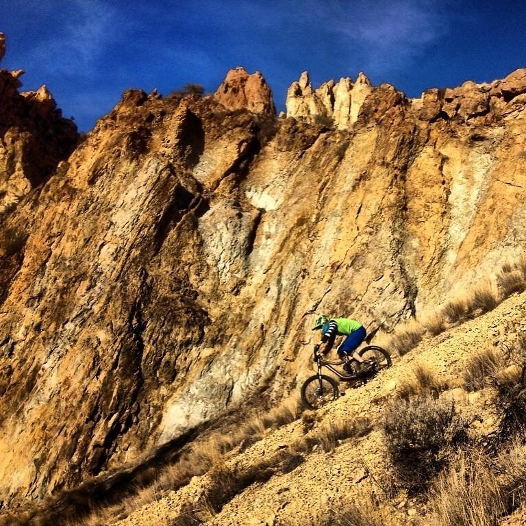 The faster way down the mountain - John_Bamford - Mountain Biking Pictures - Vital MTB