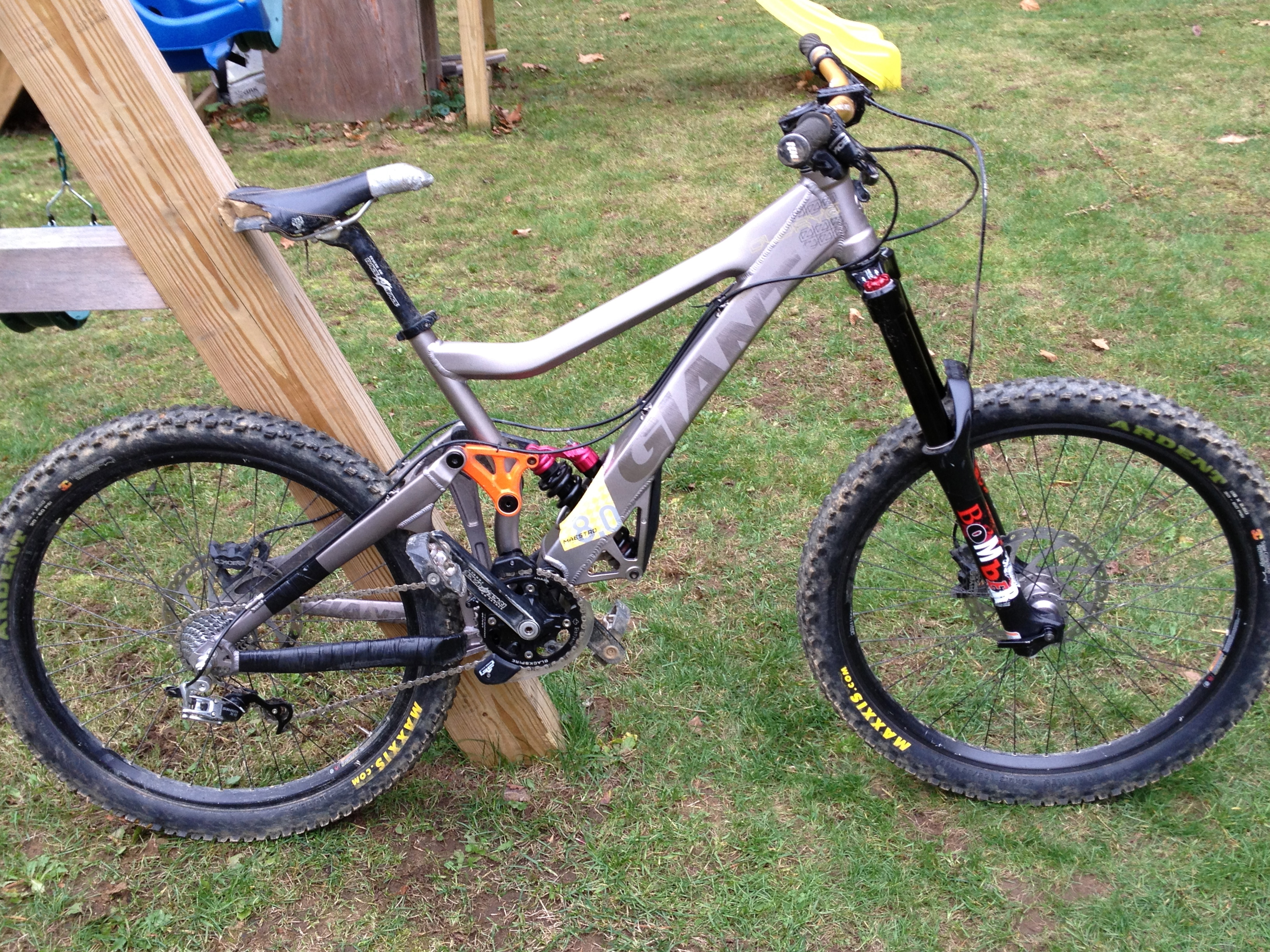 2009 Giant Glory 0 Allantbishop S Bike Check Vital Mtb