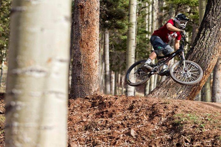 Steve Romaniuk shredding Angel Fire Bike Park - hogankoesis - Mountain Biking Pictures - Vital MTB