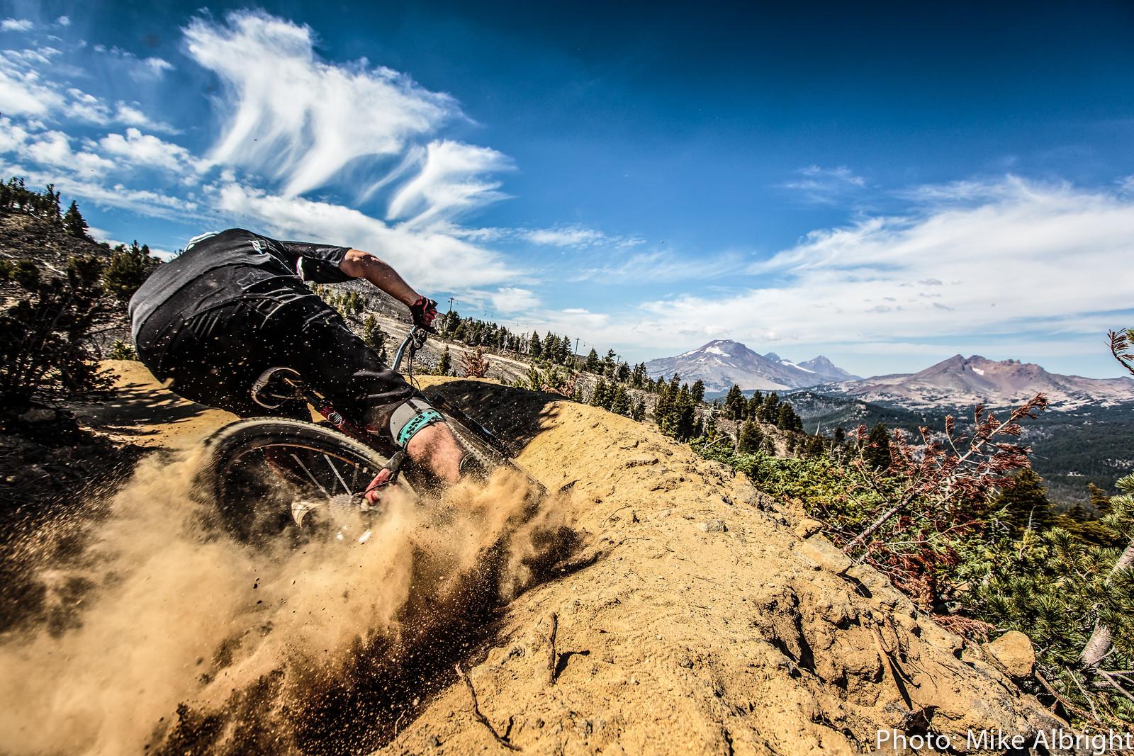 Rob Dunnet helps break in Mt. Bachelor. - bikesales - Mountain Biking Pictures - Vital MTB