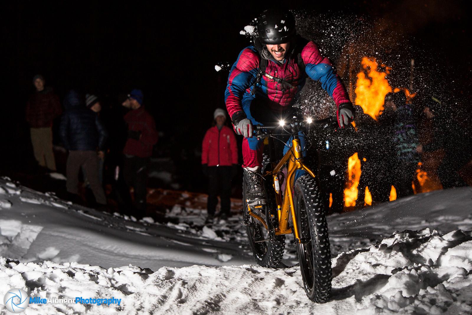2014 'Ice Crit' - Spiderman - bikesales - Mountain Biking Pictures - Vital MTB