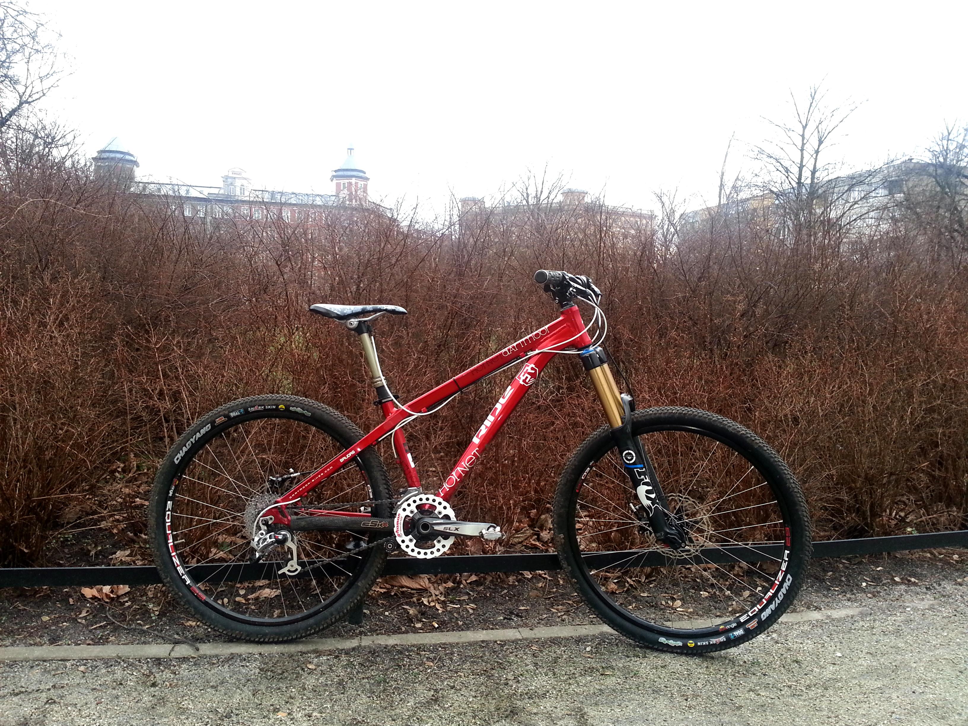 Drag Racing Helmets >> Dartmoor Hornet My Mini Enduro bike :) - Fonika's Bike ...