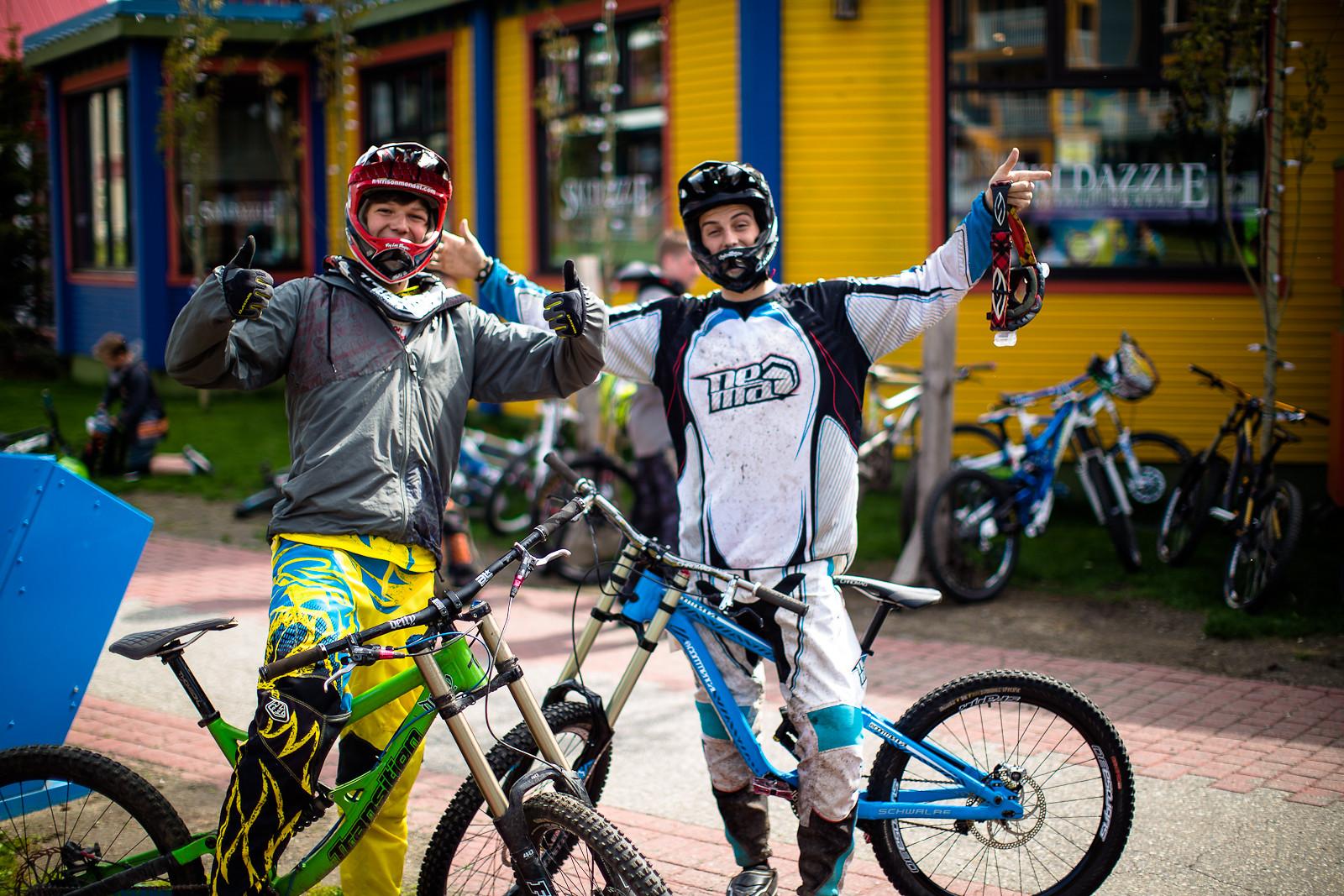 Spencer and Harrison - SilverStarBikePark - Mountain Biking Pictures - Vital MTB